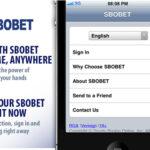 วิธีการเล่น SBOBET แทงบอลออนไลน์ ผ่าน IPHONE