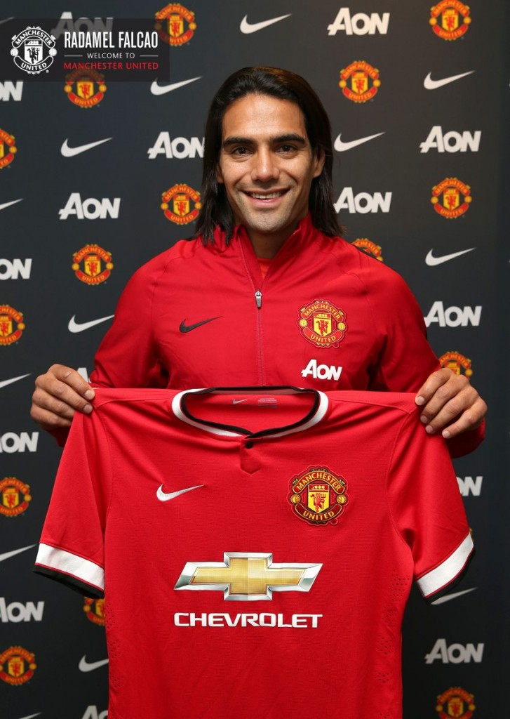SBOBET Falcao With Manchester United