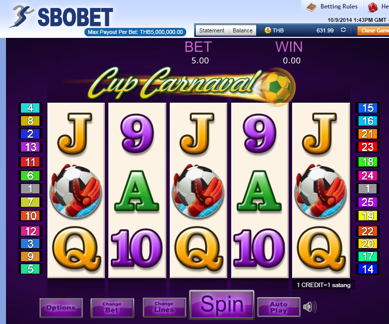 SBOBET Slot Games