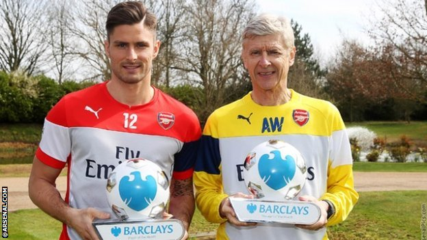 SBOBET SBO Wenger and Giroud