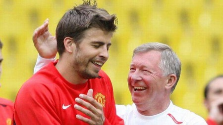 Pique Manchester United sbo