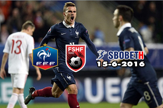 sbobeth betting france v albania 15-6-2016