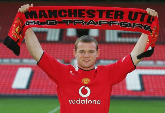 Wayne-Rooneys-first-day-at-Old-Trafford-sbobet